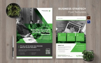 Business Strategy Flyer