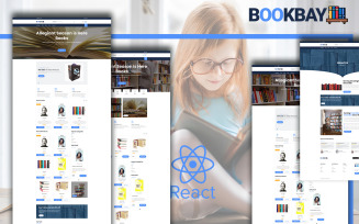 Bookbay - Book Shop React Website Template