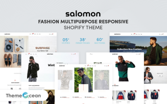 Salomon - Fashion Multipurpose Responsive Shopify Theme