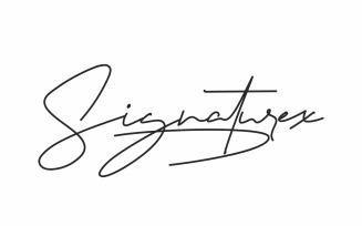 Signaturex Font