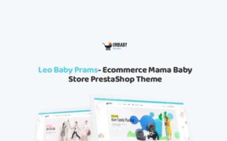 TM Baby Prams - Ecommerce Mama Baby Store PrestaShop Theme