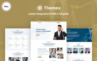 Themex - Lawyer Responsive HTML5 Website Template