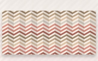 Ornament Pattern Bubblegum & Cocoa Background