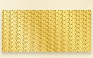 Ornament Pattern GOLDEN & Leman Background