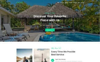 Safar - Tour and Travel Agency WordPress Theme