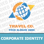 Travel Corporate Identity Template 18150