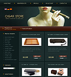 OsCommerce: Online Store/Shop osCommerce Templates Tobacco Templates