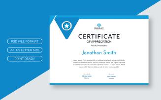Corporate Diploma Certificate Template