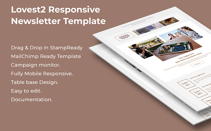 Lovest2 - Responsive Email Template
