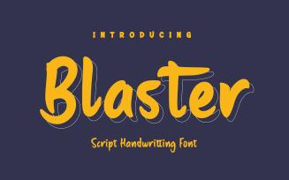 Blaster - Beautiful Handwriting Font