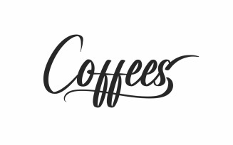 Coffees Brush Calligraphy Font