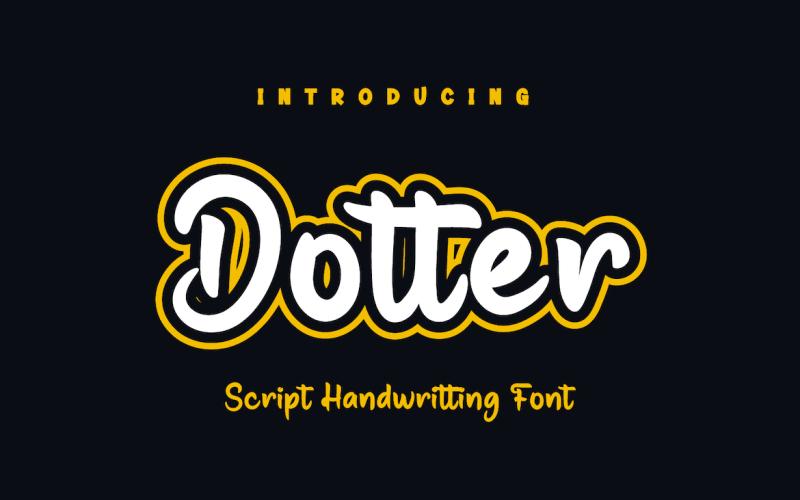 Dotter - Beautiful Handwriting Font