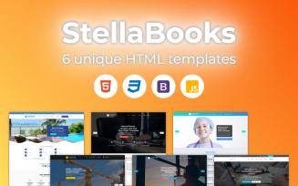 StellaBooks - Multipurpose Premium HTML Bootstrap Website Template