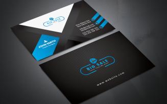 Editable Professional Business Card