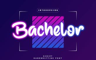 Bachelor - Beautiful Handwriting Font