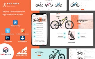 BikeRider - Multipurpose Extreme Sports Bigcommerce Theme