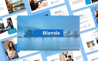 Blanda - Business Creative Google Slides