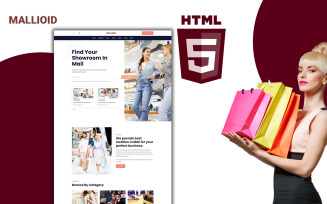 Malloid - Mall Listing Html Template