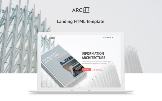 Archbook - Free Responsive Landing Page Template