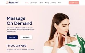 Free Beautyrel - Beauty Salon Responsive Website Template