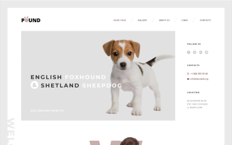Pound - Free Animal Care Responsive Website Template
