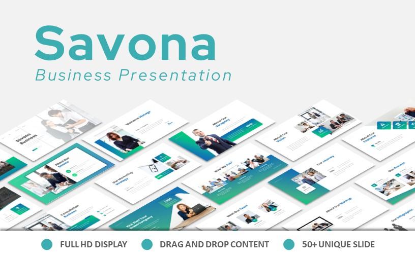 Savona Business Keynote-presentatie