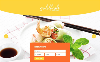 Seafood Restaurant Free Responsive Landing Page Template