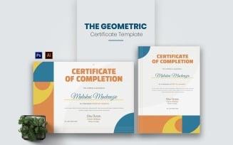 Geometric Concept Certificate template