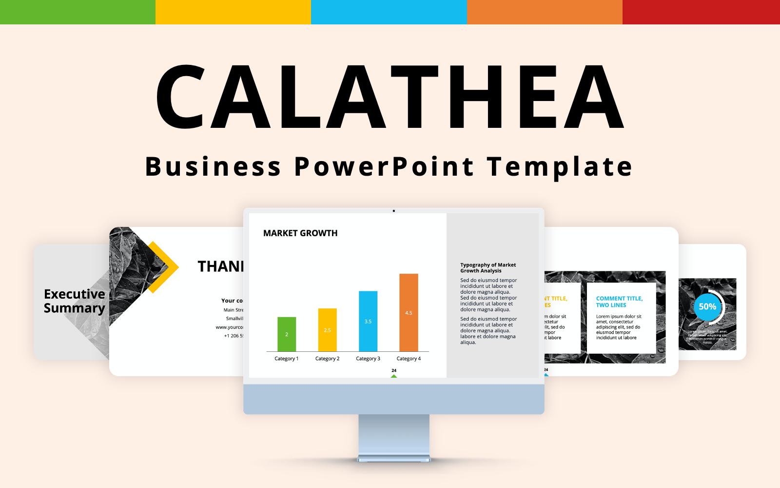 Calathea - Business PowerPoint Presentation Template