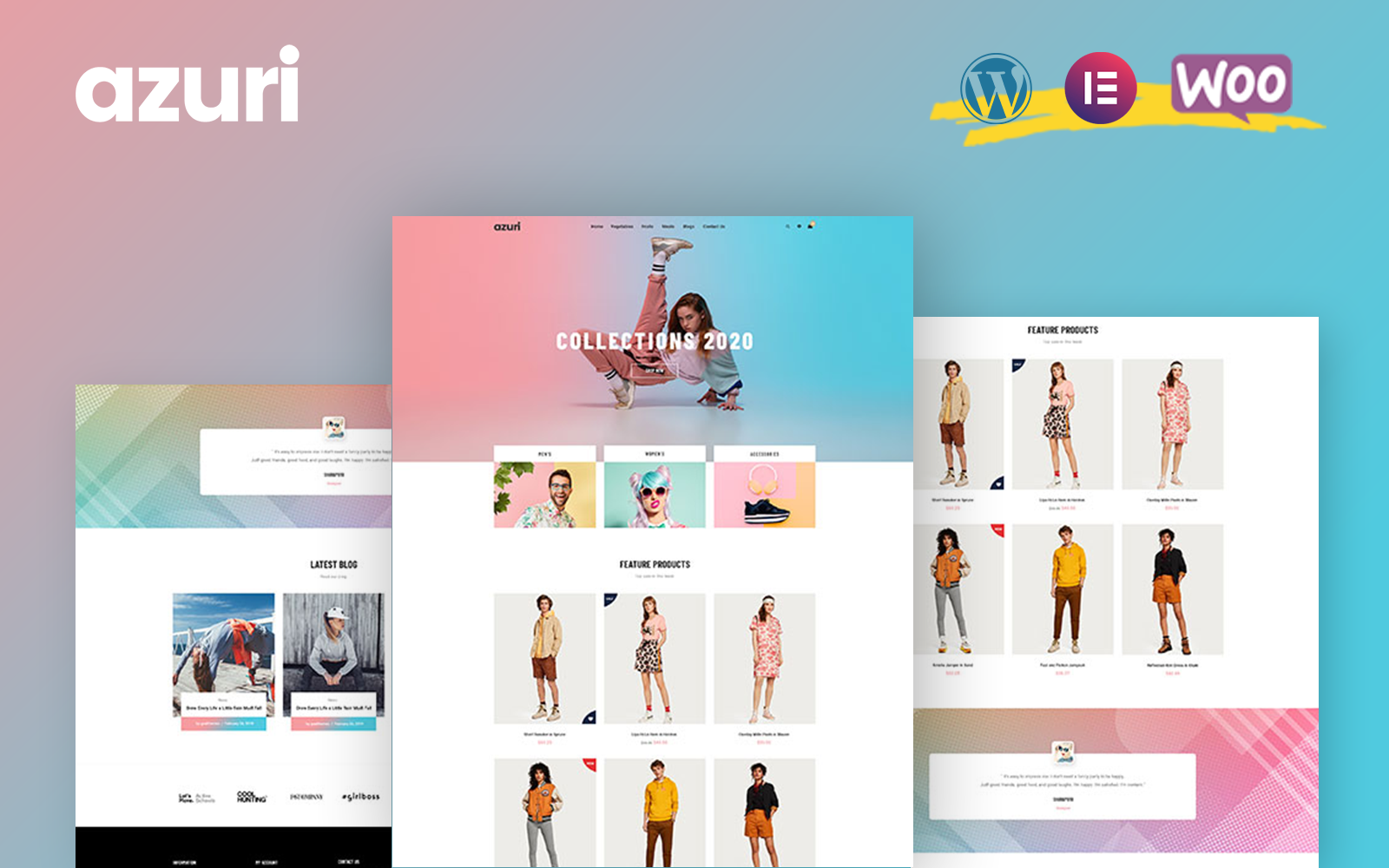 Azuri - WooCommerce WordPress-thema