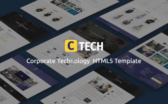 CTECH - Corporate Technology HTML5 Website Template