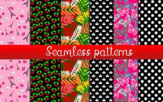 6 Fabric Seamless Patterns
