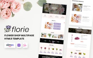 Florie - Flower Shop HTML5 Template