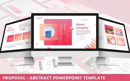 Proposal - Abstract Powerpoint Template PowerPoint Template