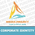 Media Corporate Identity Template 18257
