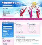 Joomla: St. Valentine St. Valentine Joomla Templates