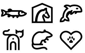 Animals Icon Pack in Windows 10 Style