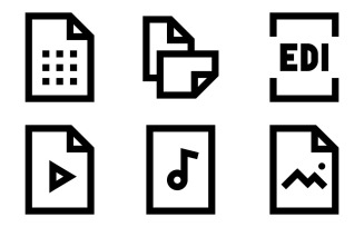 Files Icon Pack in Windows 10 Style