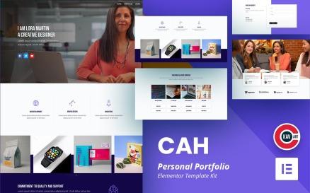 CAH - Personal Portfolio Elementor Kit