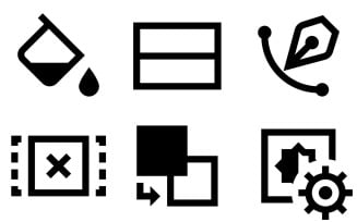 Editing Icon Pack in Windows 10 Style
