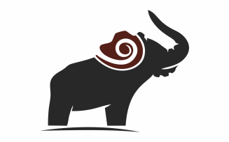 Elephant Photography Logo Template