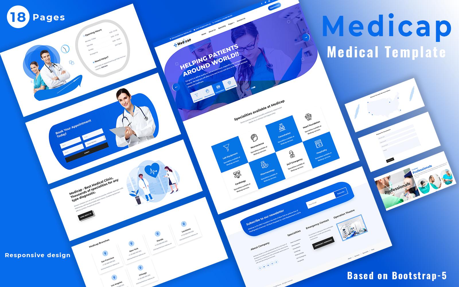 Medicap - Medical Website Template