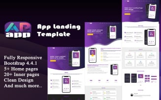 ARapp - App Landing Website Template