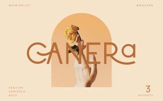 Canera - Simple Elegant Typeface Fonts