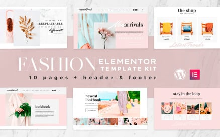 Fashion Feel - Elementor Template Kit - WooCommerce Compatible Elementor Kit