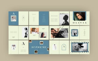 Fashion Lookbook Magazine Templates
