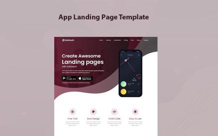 Sofotech - App Landing Page Template