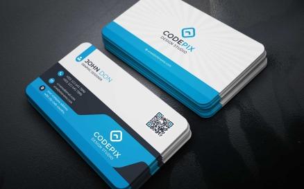 Сorporate Business Card studio-2 Corporate Identity