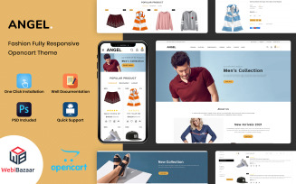 Angel - Best ELectronic Theme OpenCart Template