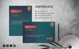 Jericko Elsayah - Certificate Template